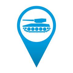 Icono localizacion simbolo tanque