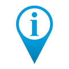 Icono localizacion simbolo informacion