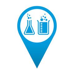 Icono localizacion simbolo laboratorio