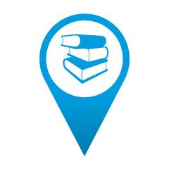 Icono localizacion simbolo libreria