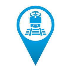 Icono localizacion simbolo estacion