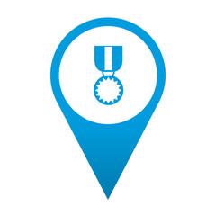 Icono localizacion simbolo medalla