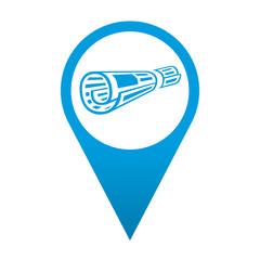 Icono localizacion simbolo periodico