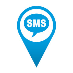 Icono localizacion simbolo SMS