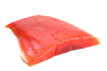 Salmon raw fillet