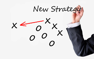 Change management team concept or apply new strategy and vision