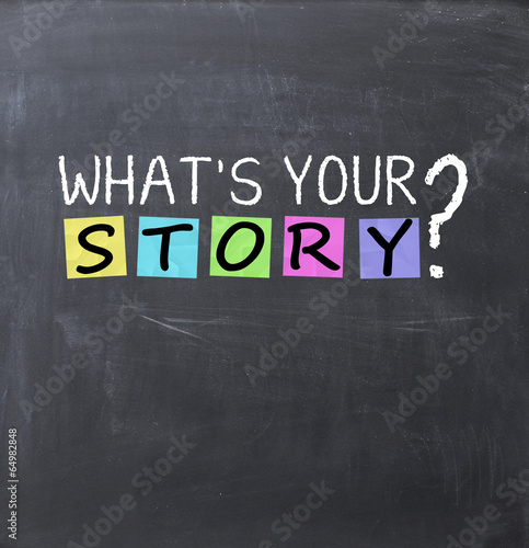 What is your story question on a blackboard Poster