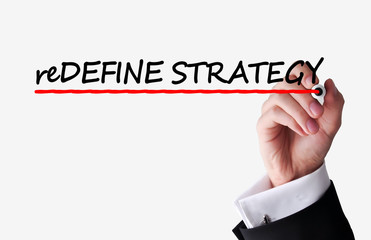 Redefine business strategy text
