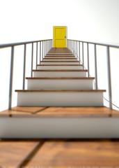 Stairway To Yellow Door