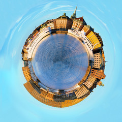 Stockholm, spherical panorama.