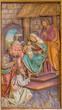 Trnava - The Adoration of Magi carved relief
