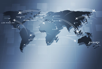 Global Aviation Business Background