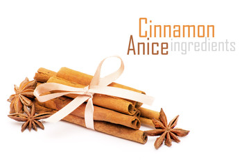anice and cinnamon