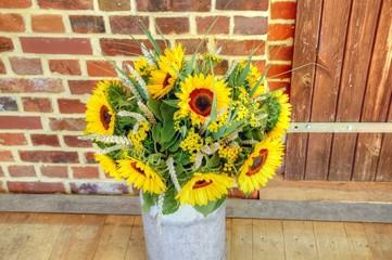 Sonnenblumenstrauß