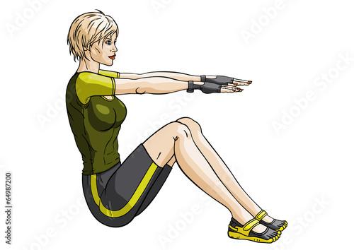 Fitness press