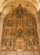Toledo - Polychrome main altar of San Roman church