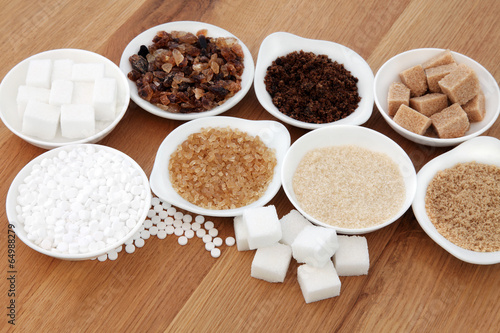 Sugar Types - 64988279