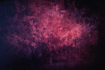 Purple grunge and scratched metal background structure