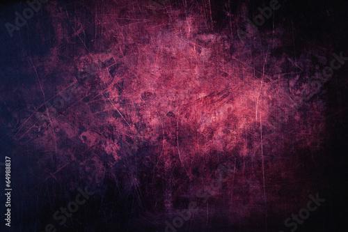 Purpurowy grunge i porysowana metalu tła struktura