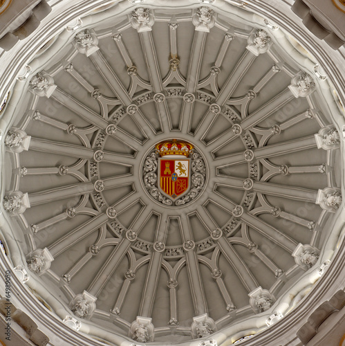 Madrid - Cupola of church of hl. Theresia