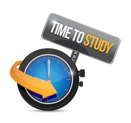 time to study sign illustration design