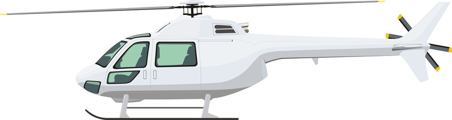 helicopter side