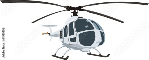 compact helicopter - 64989896