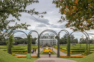 Botanic Garden in Curitiba, Parana, Brazil