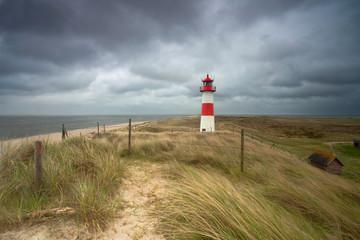 Unwetter am Leuchtturm