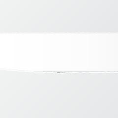 Przerwana kartka papieru