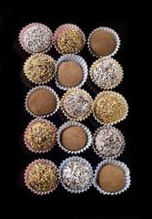 Chocolate handmade candies