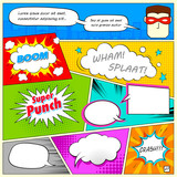 Comic Speech Bubble - 64995054