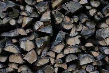Brennholz getrocknet