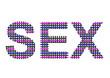 ızgara desenli sex yazısı