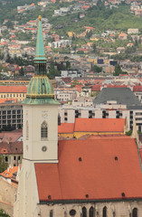Saint Martin's cathedral. Bratislava, Slovakia