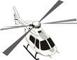 civil helicopter - 64997883