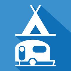Logo camping.