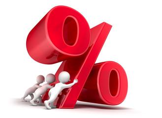 Prozenteaufstellung