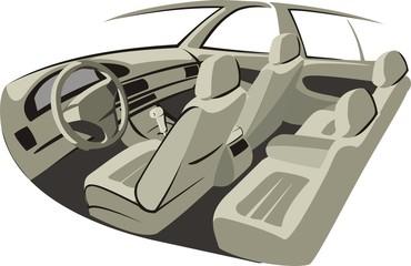 car indoor