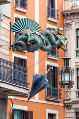 Chinese Dragon  in Barcelona