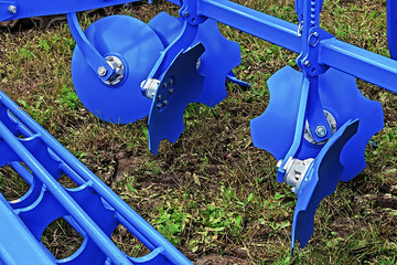 Agricultural equipment. Detail 126