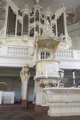 Innenaufnahme der Ludwigkirche Saarbrücken