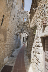 The streets in Eze