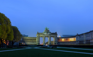 arch de Triumph Brussels Jubilee Park