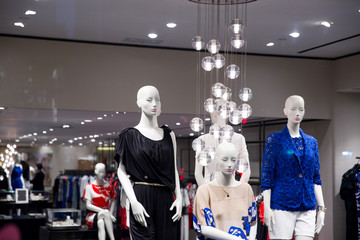 Group of fashion on window mode