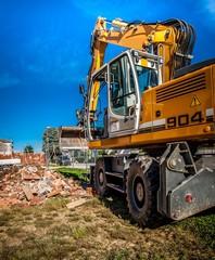 escavatore rotante