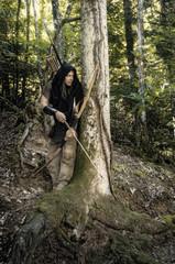 Waldläufer Bogenschütze
