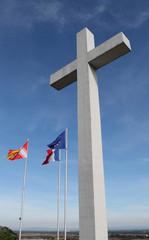 obernai mémorial croix monument drapeau kazy
