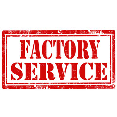 Factory Service-stamp