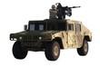 Постер, плакат: Gunner on Humvee